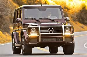 2013 Mercedes G63 Amg Drive 2013 Mercedes G63 Amg Automobile Magazine