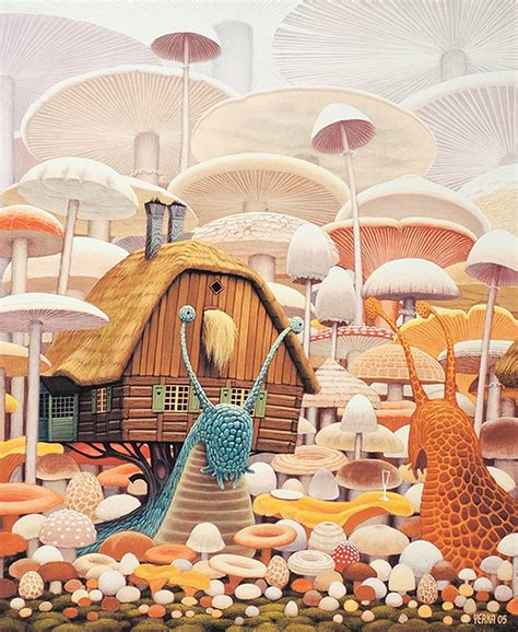 Yerka Paints Like An by Artist Creates Surreal Paintings Of Like