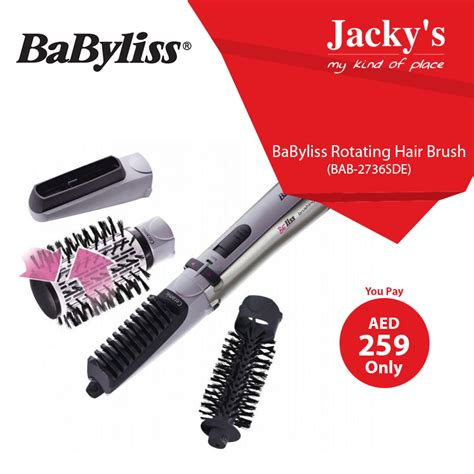 Hair Dryer In Carrefour babyliss rotating hair brush awesome offer at jacky s