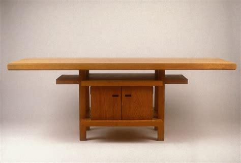 frank lloyd wright desk wooden frank lloyd wright furniture style pdf plans