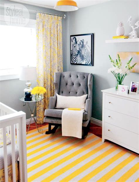 Yellow And Grey Nursery Decor 17 Best Ideas About Yellow Gray Nurseries On
