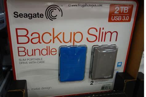 Sale Seagate Backup Plus Slim 2tb Hdd Hd Hardisk External 2 5 costco sale seagate backup 2tb slim portable drive bundle 85 99 frugal hotspot