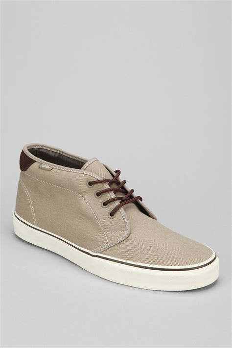 mens chukka sneaker outfitters 69 canvas chukka sneaker in gray for