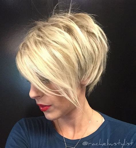 short blonde layered haircut pictures 25 best ideas about short textured bob on pinterest