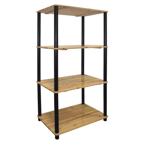 home decorators collection anjou natural open bookcase home decorators collection light natural open bookcase h