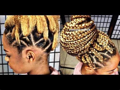 rubber band box braids best 25 box braids bun ideas on pinterest box braids