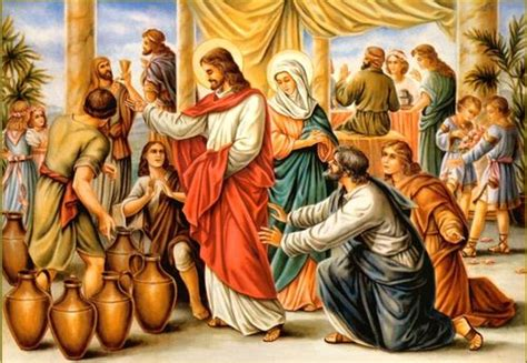Wedding At Cana Mystery by Message Of Our Of Medjugorje Luminous Mysteries Thurs