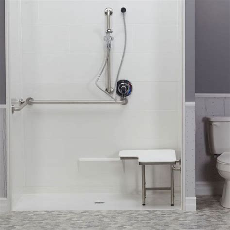 Freedom Showers by Freedom Ada Roll In Shower Center Drain 5 62 Quot X