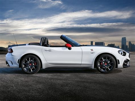 fiat spider 2017 fiat 124 spider launched in europe abarth priced at