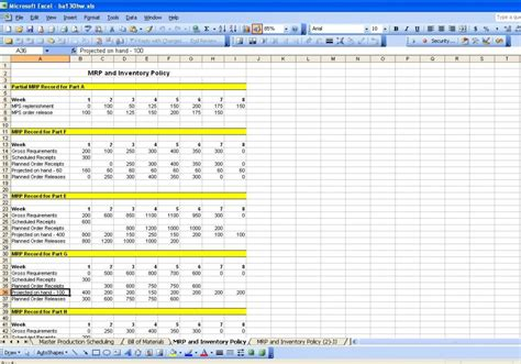 Production Schedule Template Word Excel Production Plan Template