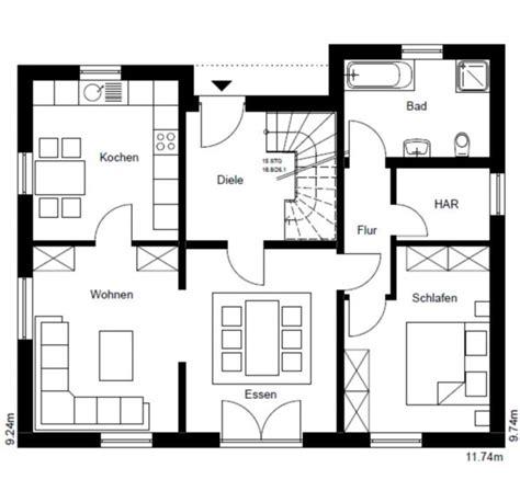 Grundriss Eg Einfamilienhaus by Einfamilienhaus Efh Massivhaus Typ Mannheim