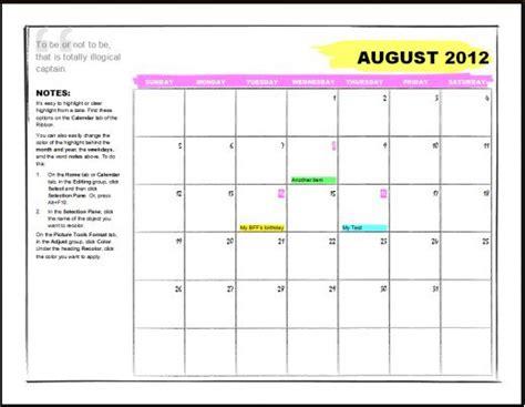 template microsoft weekly calendar template