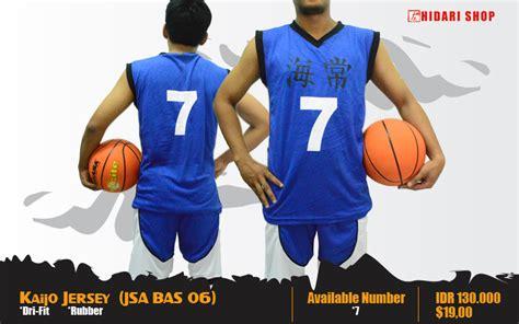 Kaos Shutoku Kuroko No Basket Ka Bas 06 animanga clothing pre order jersey kuroko no basket