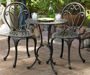 Outdoor Bistro Table Set 3 Patio Bistro Set Patio Design Ideas
