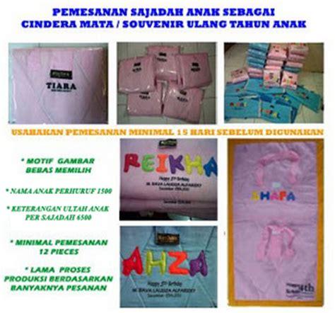 Mukena Anak Aplikasi Ukuran S 1 2 Tahun Seri B grosir murah sajadah mukena sarung tas anak kartun