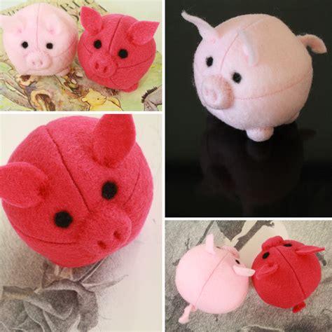pattern for felt pig felt pigs tally s treasury