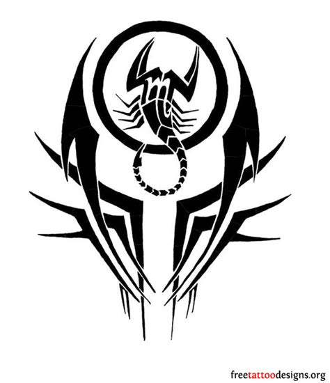 tribal scorpion tattoo designs 99 scorpion tattoos scorpio designs