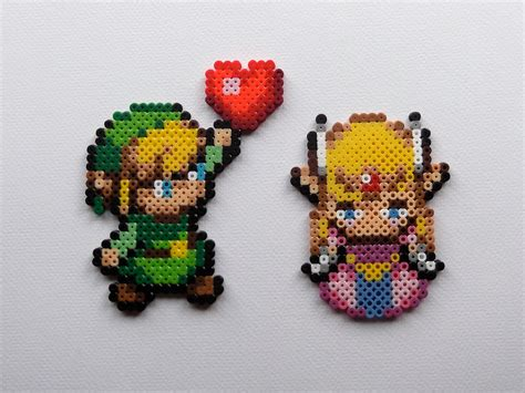 link hama link and v 2 legend of pixelated perler