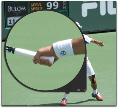 Raket Stroke djokovic forehand grip talk tennis