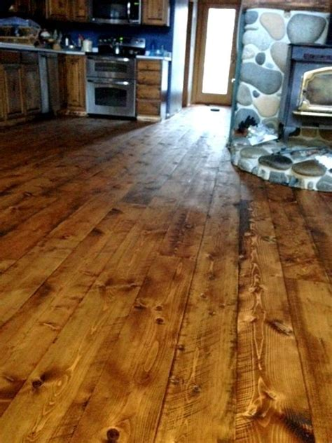 Rustic Cabin Flooring by 1000 Images About Wood Stain On Stains