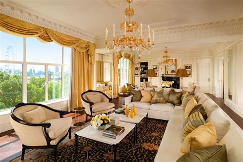 living room suite the savoy royal suite butlers hairdressers and make up