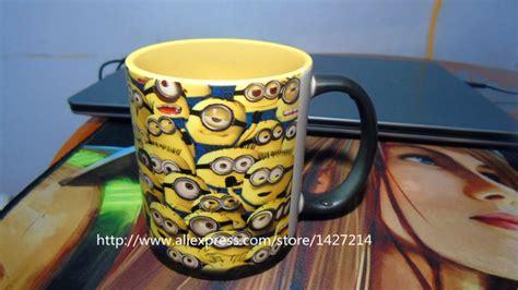 Mug Custom Minions 3 despicable me multi minions custom changing color morphing