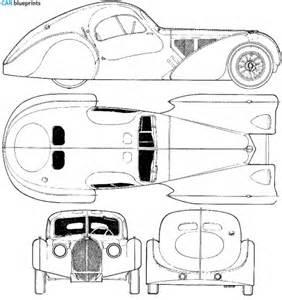 Bugatti Veyron Blueprints Car Blueprints Bugatti Type 57sc Atlantic Blueprints