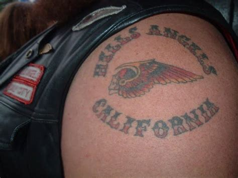 hells angel tattoo hells steven ruiz charged with murder of fellow