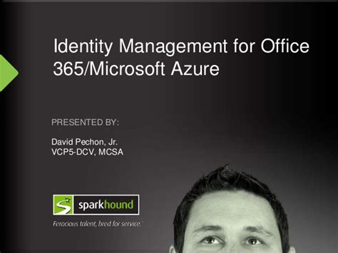 id馥 am駭agement bureau identity management for office 365 and microsoft azure