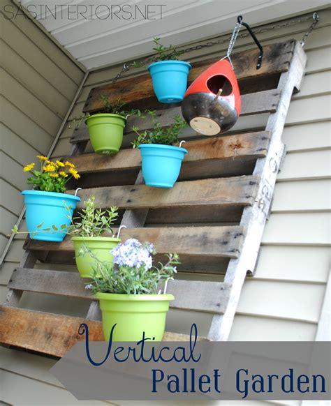 how to build a vertical pallet garden diy vertical pallet garden burger