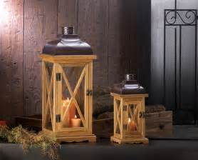 Home Decorative Hayloft Large Wooden Candle Lantern Wholesale At Koehler Home Decor