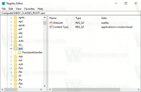 file format registry how to show or hide file extensions in windows 10
