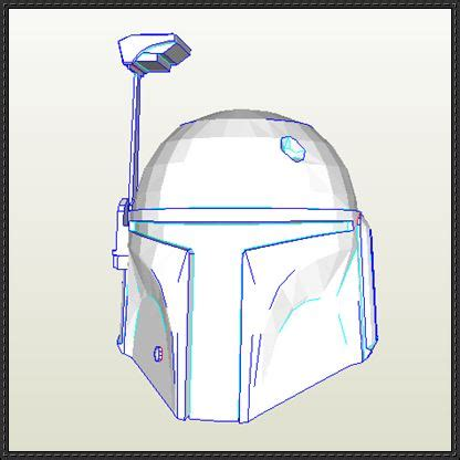 boba fett helmet template june 2013 papercraftsquare free papercraft