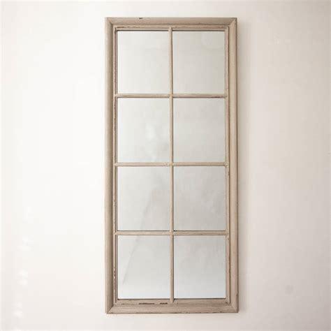 Eight pane window mirror by decorative mirrors online notonthehighstreet com