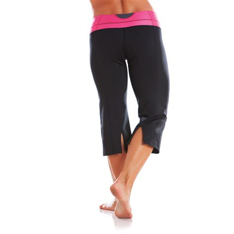 comforts training pants moving comfort flow womens capri training pants shimmer