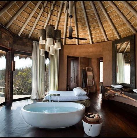 private spa luxury lodge house design