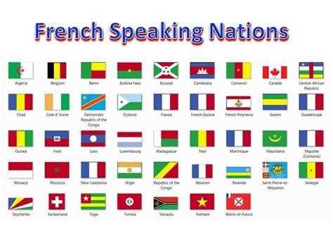speaking countries list 19 best images about la francophonie on