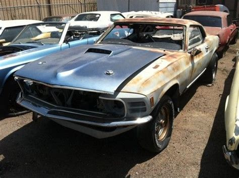 1970 mustang mach 1 parts find new 1970 mustang mach 1 rolling project car with some