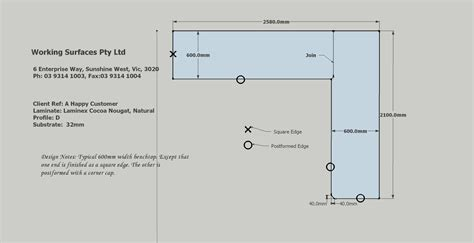 Standard Depth Of Kitchen Units by Design Amp Installation Laminate Benchtops Melbourne