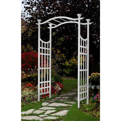Lowe S Wedding Arch new arbors white garden arbor archway arch trellis