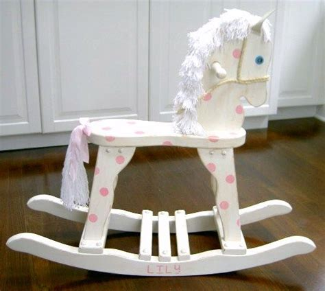 diy wood rocking horse woodworking projects plans