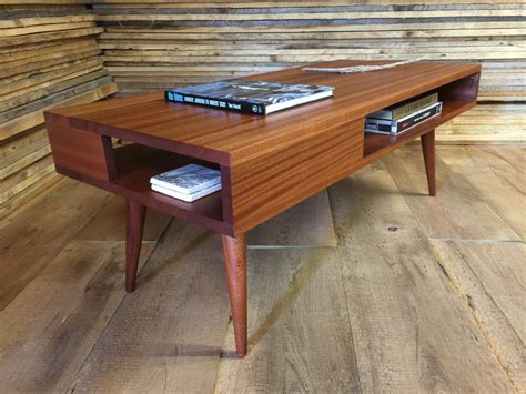 Thin Coffee Table Thin Mid Century Modern Coffee Table With Storage