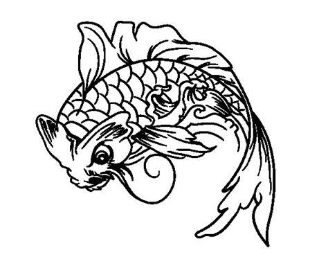 japon imagenes para colorear dibujo de pez koi para colorear dibujos net
