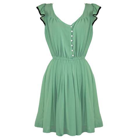50er Jahre Stil by Damen Kleid Erbsengr 252 N Vintage 40er 50er Jahre Stil