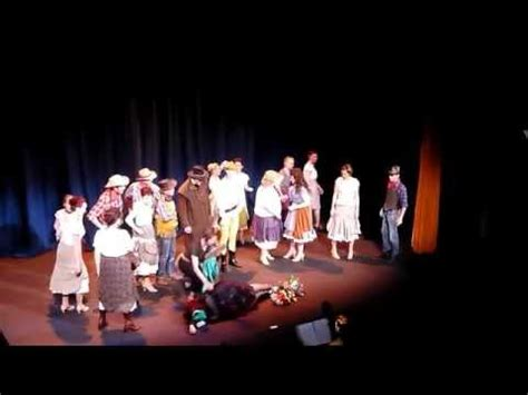 curtains the musical characters curtains the musical part 1 up to hi bobby youtube