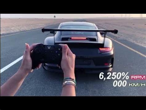 Porsche Xbox Controller by Launching The Porsche Gt3rs With An Xbox Controller