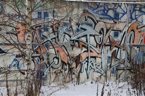 Concrete Wall Mural mural cinza grafite parede arte de rua baixar fotos