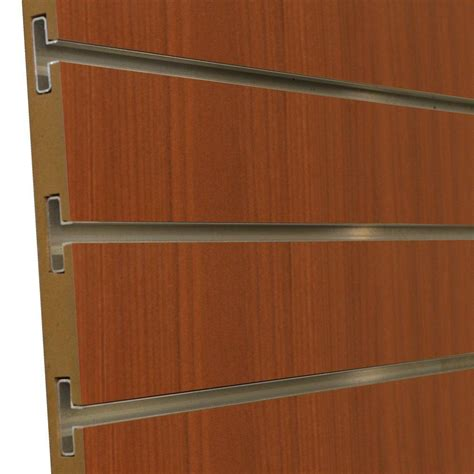 Slat Board Home Depot by Gabriel Logan 3 4 In X 4 Ft X 8 Ft 3 In Oc Cherry