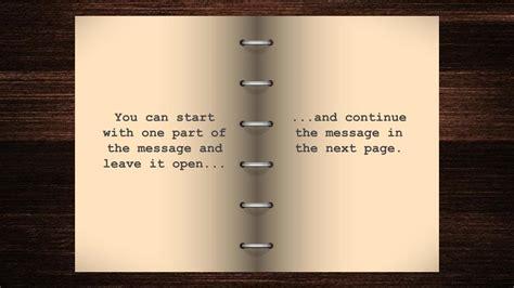 google slides design typewriter open book free google