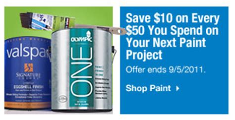 home depot paint sale coupon home depot and lowes paint rebates and deals labor day weekend